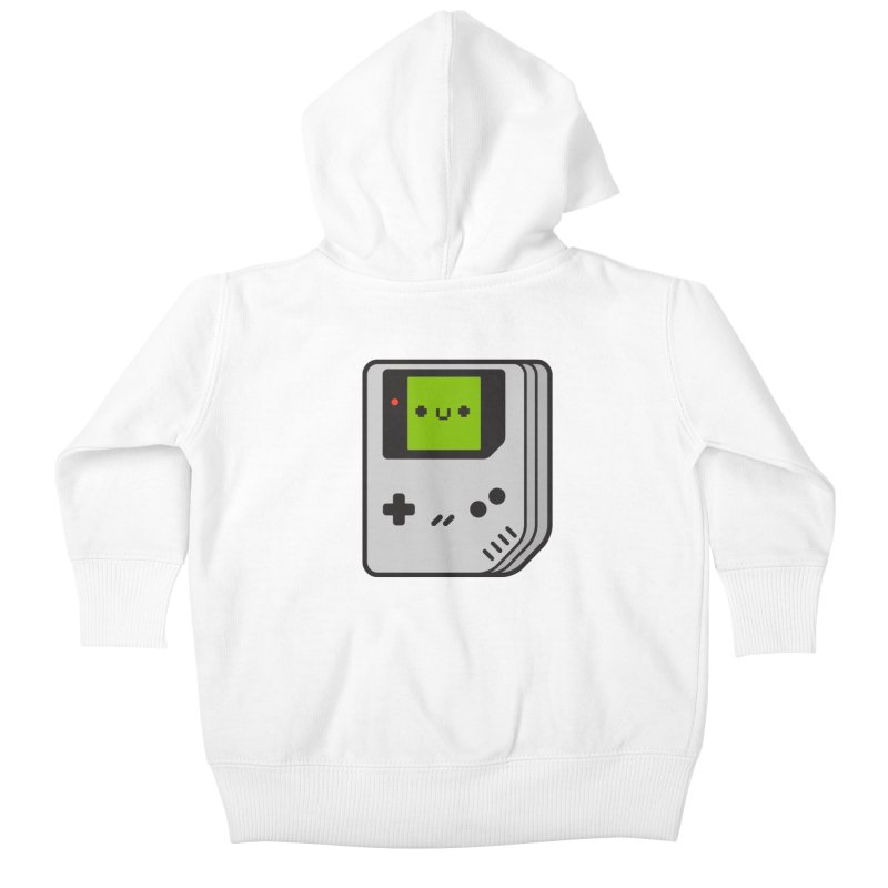 Game Friend Kids Baby Zip-Up Hoody by Luis Romero Shop