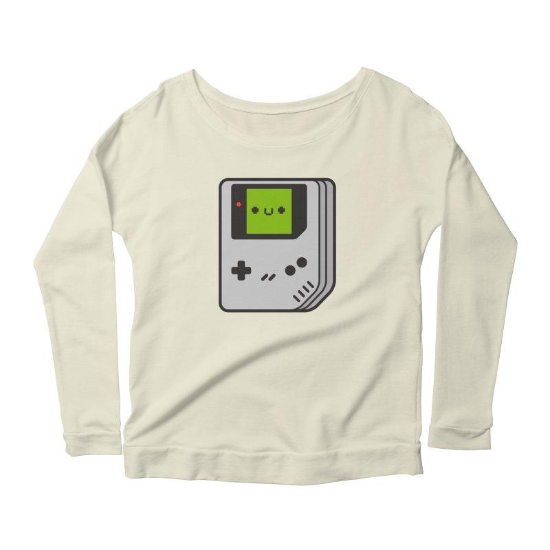 Game Friend Women's Scoop Neck Longsleeve T-Shirt by Luis Romero Shop