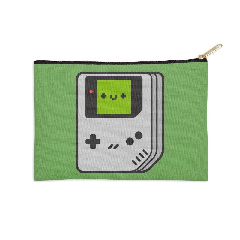 Game Friend Accessories Zip Pouch by Luis Romero Shop