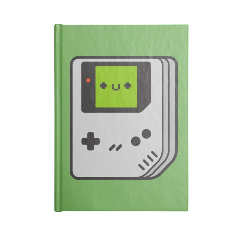 Game Friend Accessories Lined Journal Notebook by Luis Romero