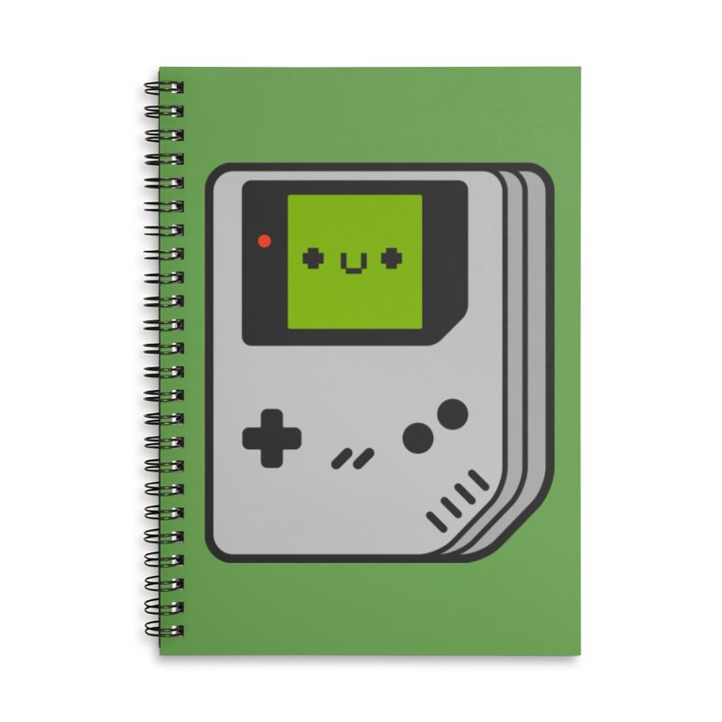 Game Friend Accessories Lined Spiral Notebook by Luis Romero Shop