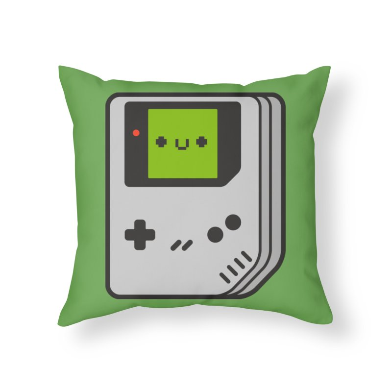 Game Friend Home Throw Pillow by Luis Romero Shop