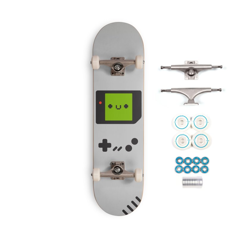 Game Friend Accessories Complete - Basic Skateboard by Luis Romero Shop