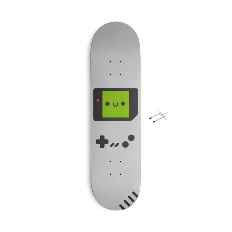 Game Friend Accessories With Hanging Hardware Skateboard by Luis Romero