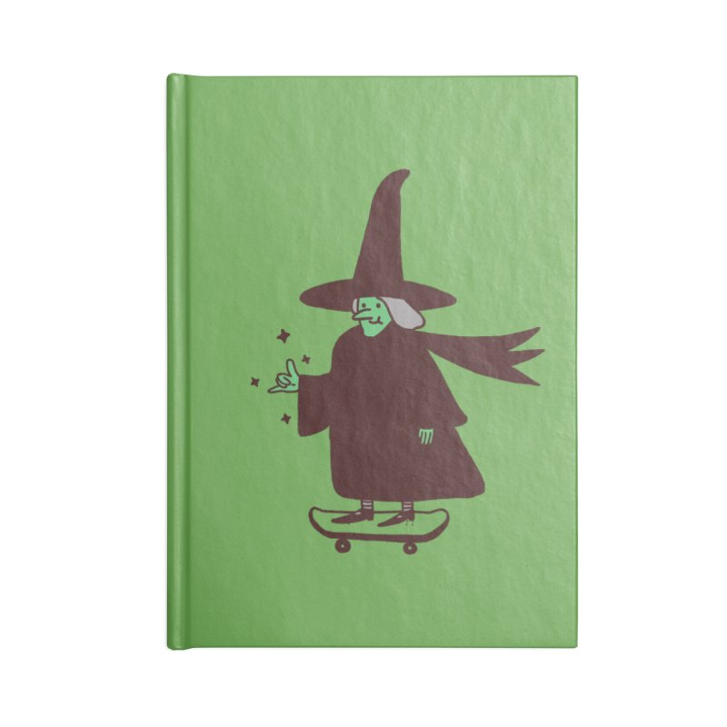 Witchin' Accessories Lined Journal Notebook by Luis Romero