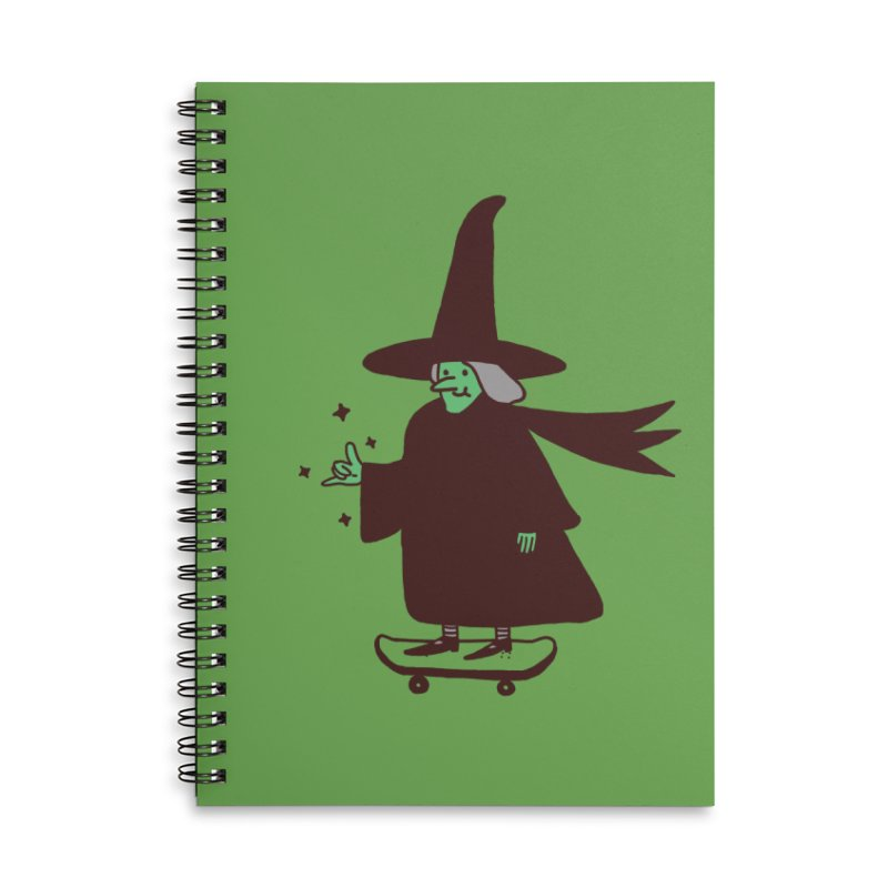 Witchin' Accessories Lined Spiral Notebook by Luis Romero Shop