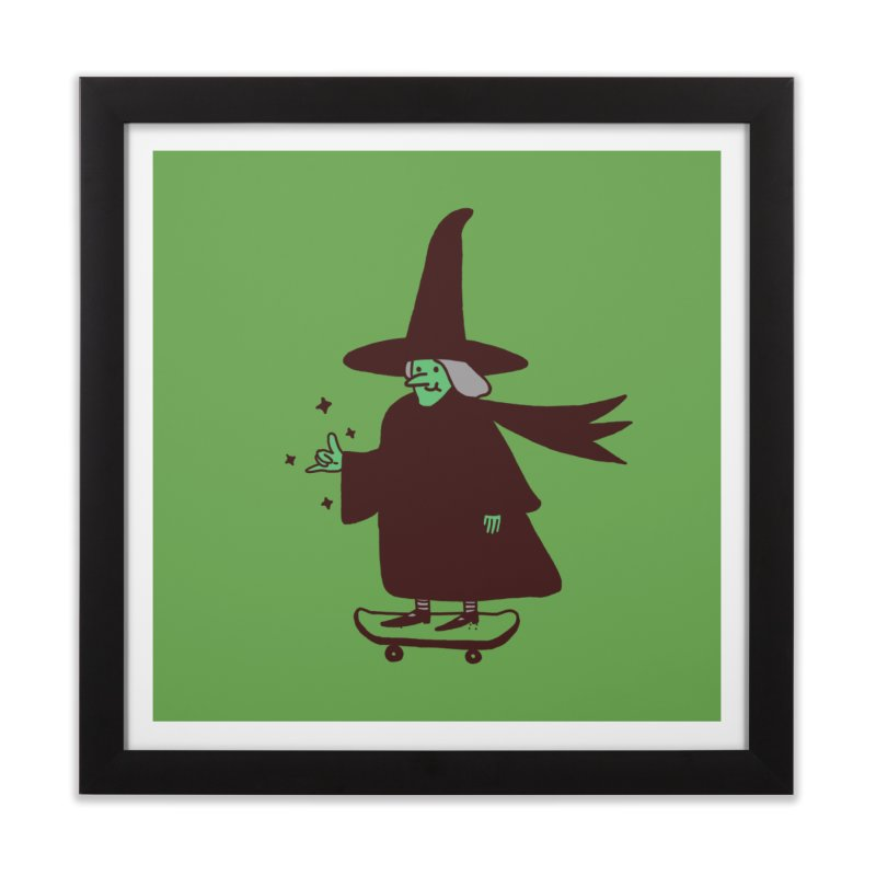 Witchin' Home Framed Fine Art Print by Luis Romero Shop