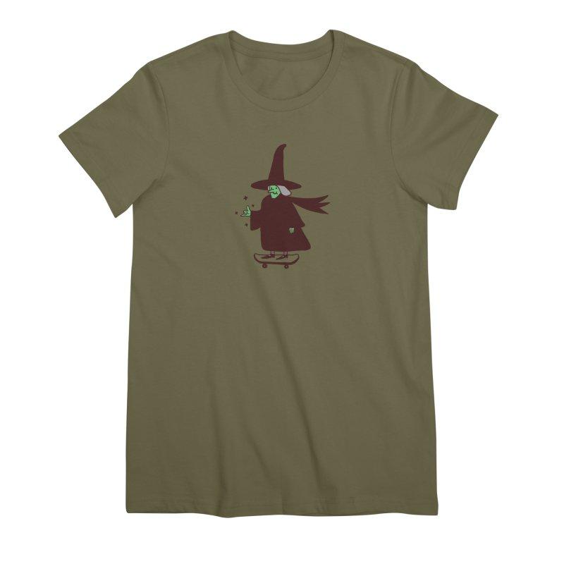 Witchin' Women's Premium T-Shirt by Luis Romero Shop