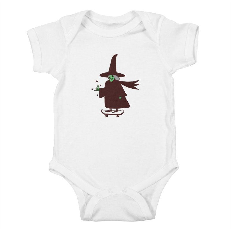 Witchin' Kids Baby Bodysuit by Luis Romero Shop