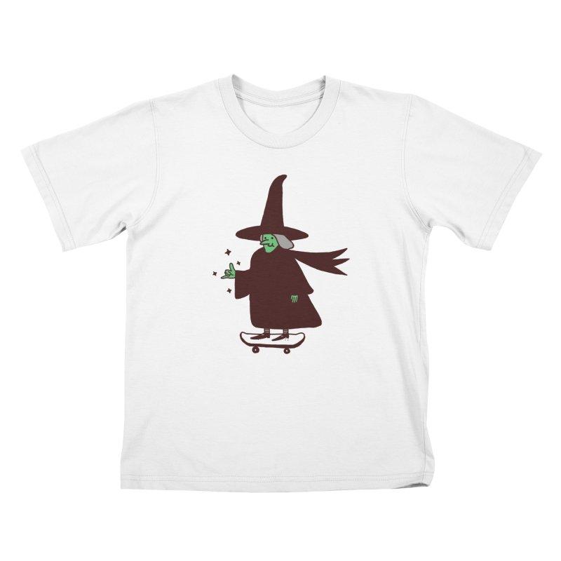 Witchin' Kids T-Shirt by Luis Romero