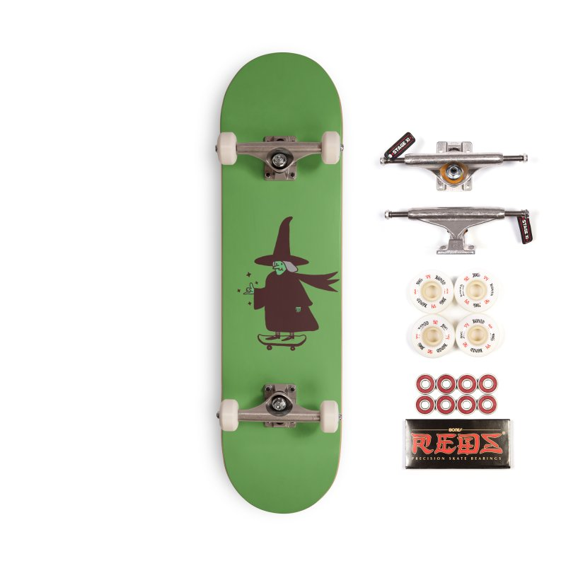 Witchin' Accessories Complete - Pro Skateboard by Luis Romero
