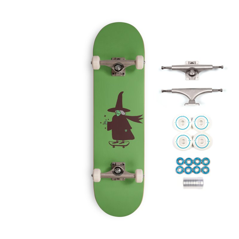 Witchin' Accessories Complete - Basic Skateboard by Luis Romero Shop