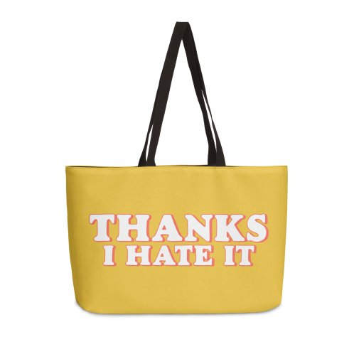 image for Thanks I Hate It