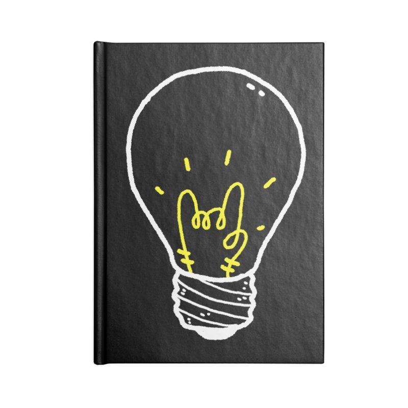 Light Rock Accessories Blank Journal Notebook by Luis Romero Shop