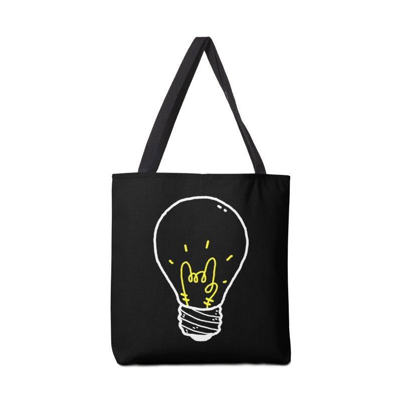Light Rock Accessories Tote Bag Bag by Luis Romero