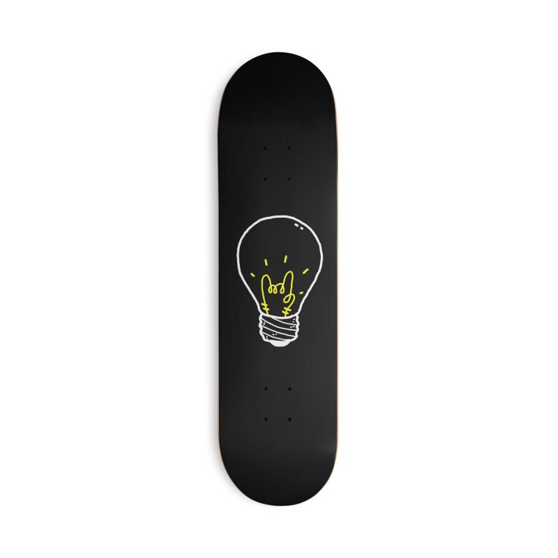 Light Rock Accessories Deck Only Skateboard by Luis Romero Shop