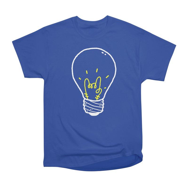 Light Rock Men's Heavyweight T-Shirt by Luis Romero Shop