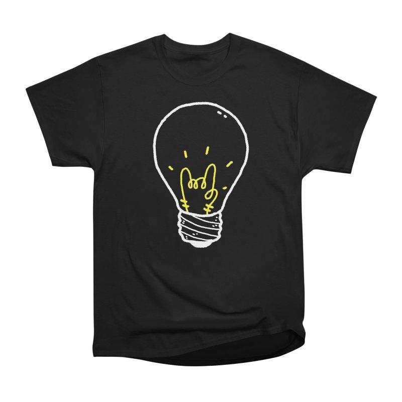 Light Rock Women's Heavyweight Unisex T-Shirt by Luis Romero