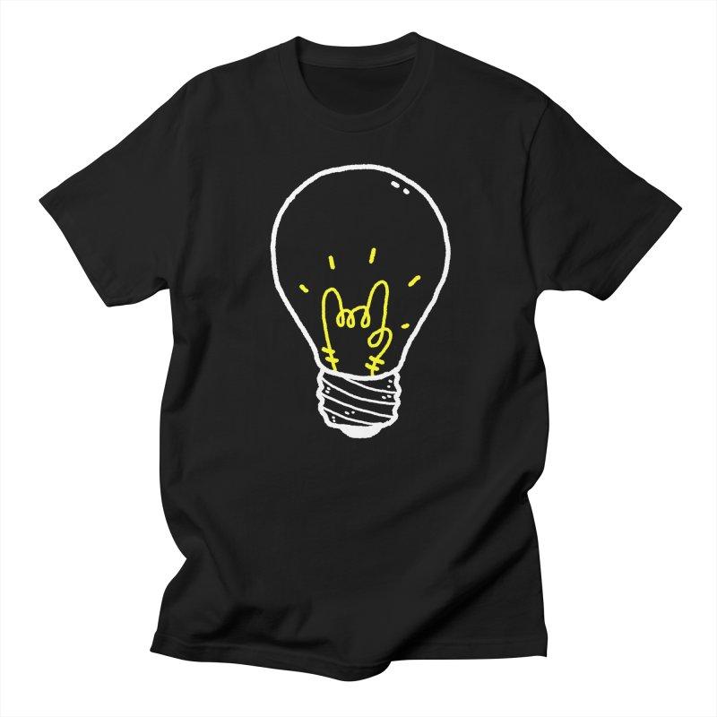 Light Rock Men's Regular T-Shirt by Luis Romero Shop