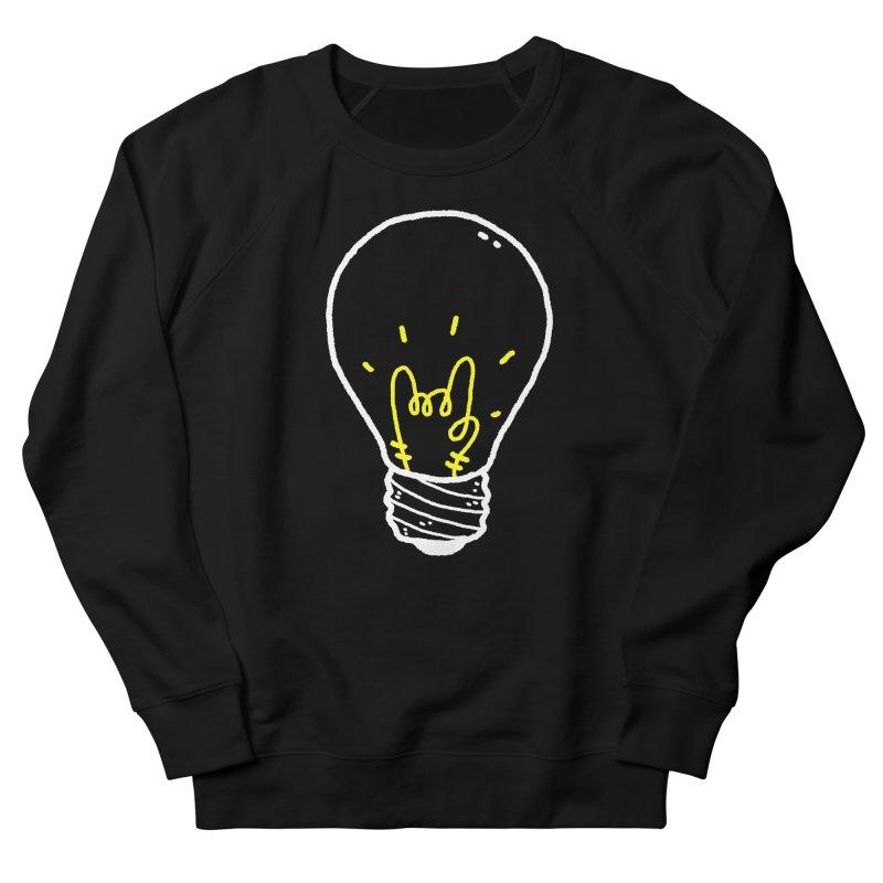 Light Rock Women's French Terry Sweatshirt by Luis Romero Shop