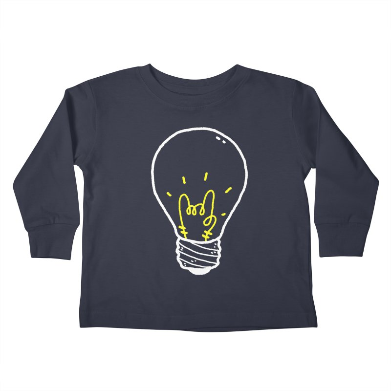 Light Rock Kids Toddler Longsleeve T-Shirt by Luis Romero