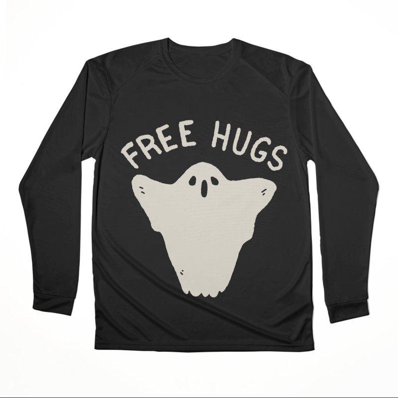 Free Hugs Men's Performance Longsleeve T-Shirt by Luis Romero Shop