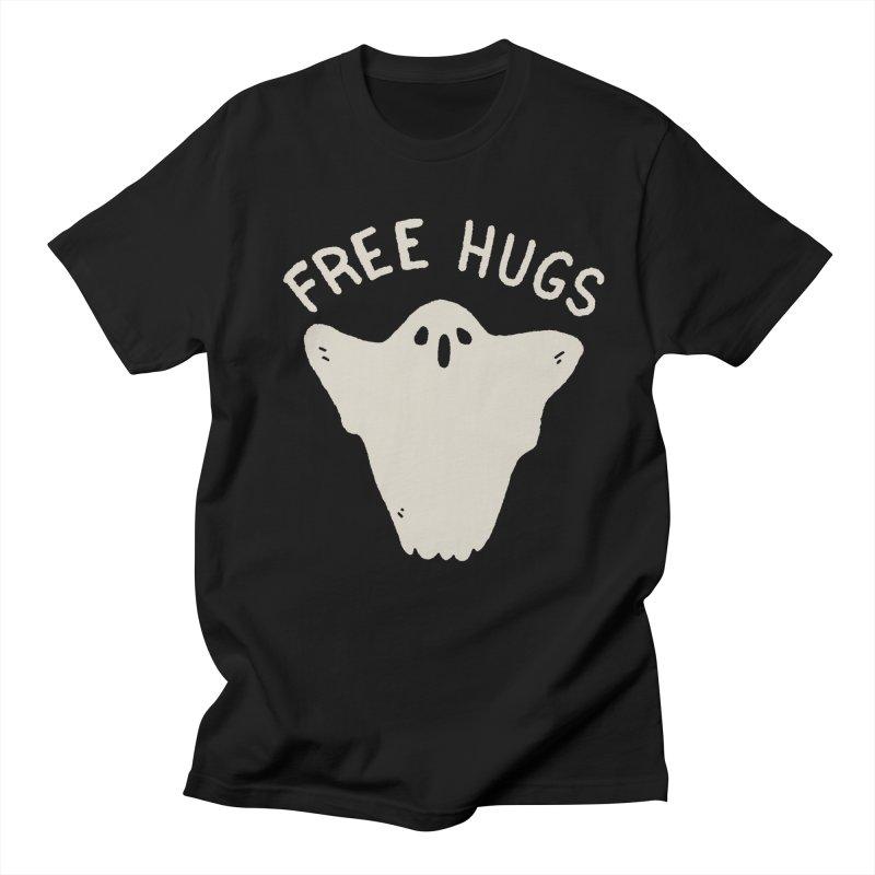 Free Hugs in Men's Regular T-Shirt Black by Luis Romero Shop