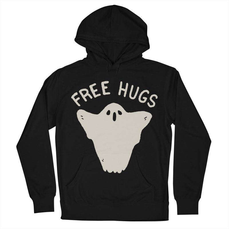 Free Hugs Men's French Terry Pullover Hoody by Luis Romero