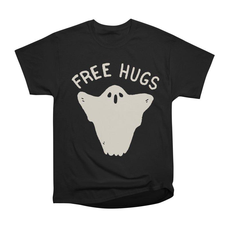 Free Hugs Women's Heavyweight Unisex T-Shirt by Luis Romero