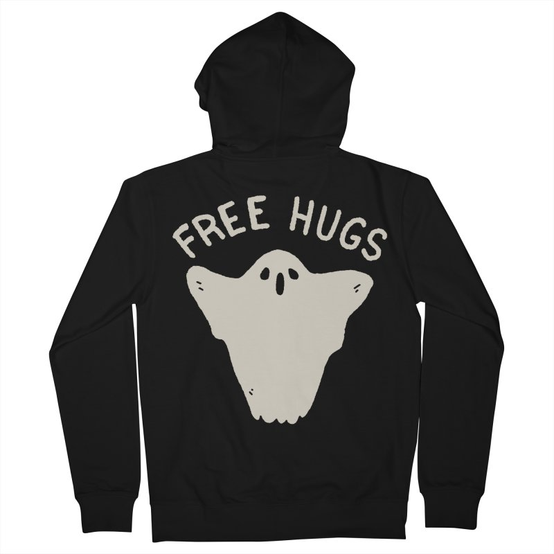 Free Hugs Women's French Terry Zip-Up Hoody by Luis Romero Shop