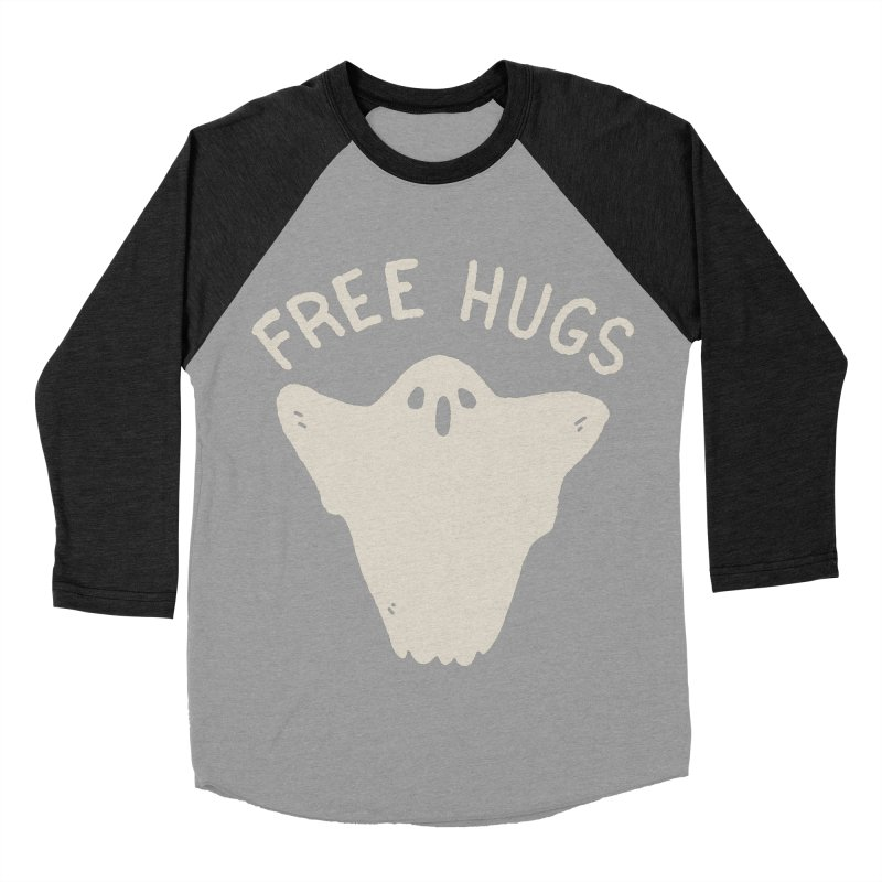 Free Hugs Men's Baseball Triblend Longsleeve T-Shirt by Luis Romero Shop