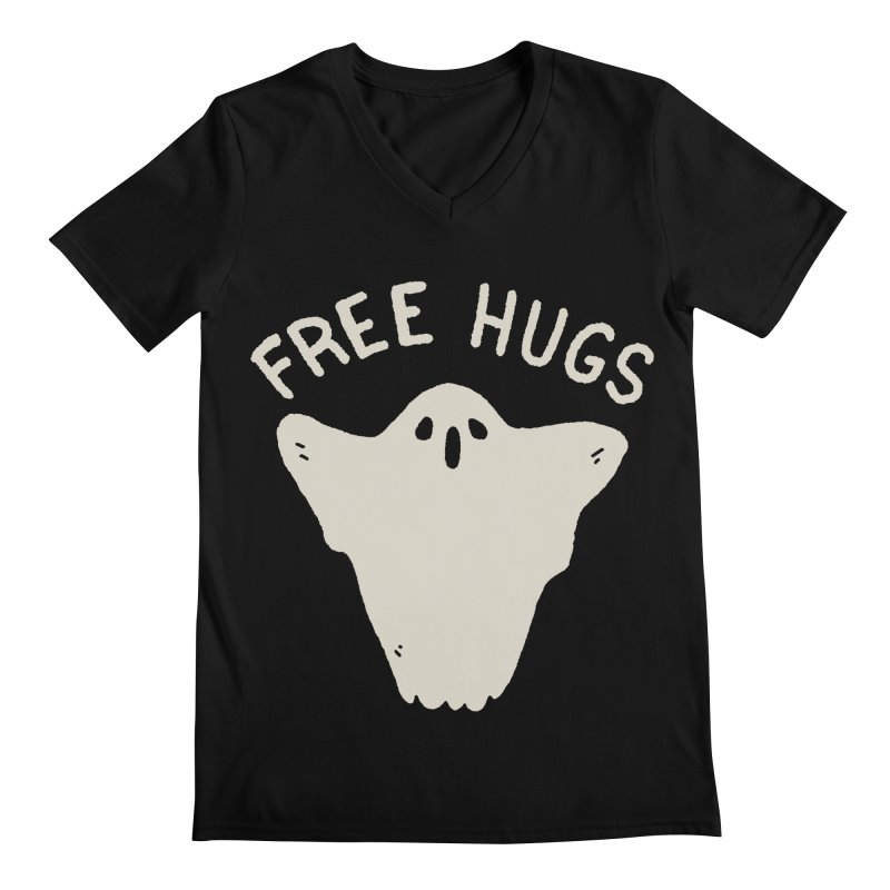 Free Hugs Men's Regular V-Neck by Luis Romero Shop