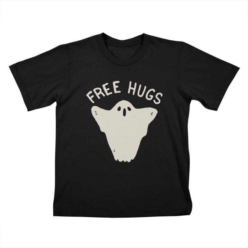 Free Hugs Kids T-Shirt by Luis Romero