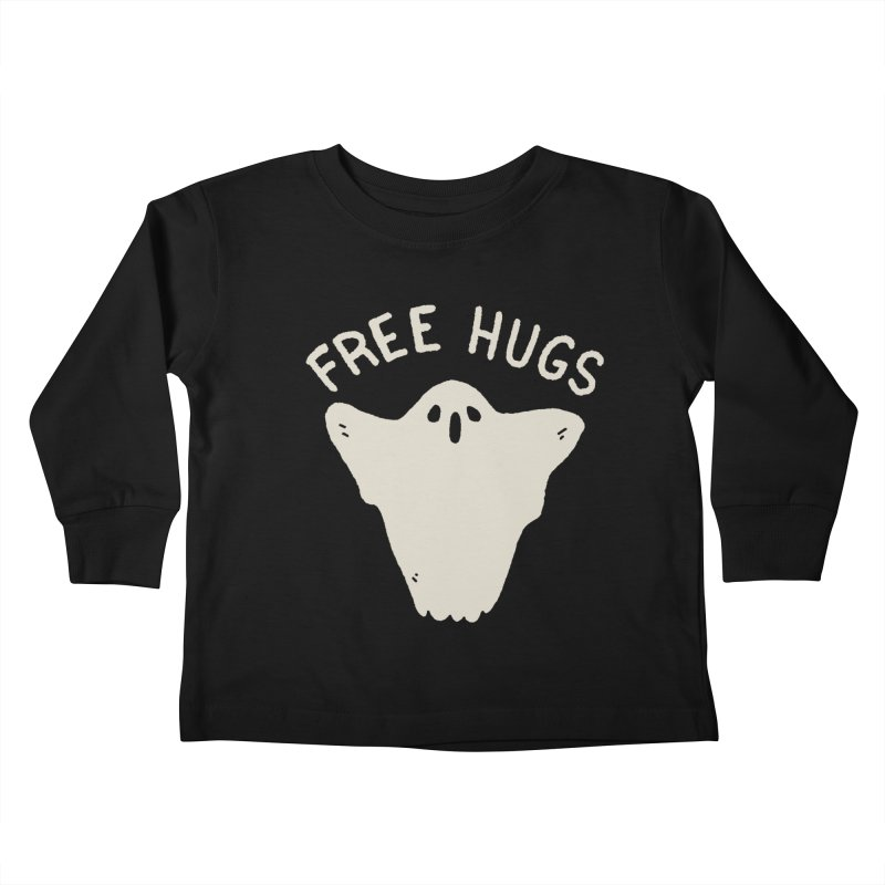 Free Hugs Kids Toddler Longsleeve T-Shirt by Luis Romero