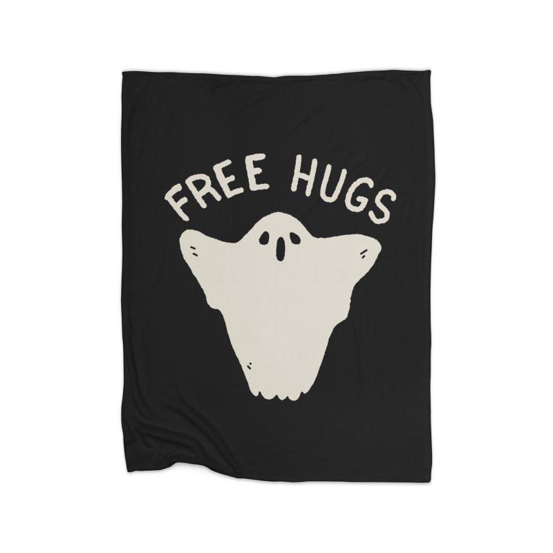 Free Hugs Home Fleece Blanket Blanket by Luis Romero Shop