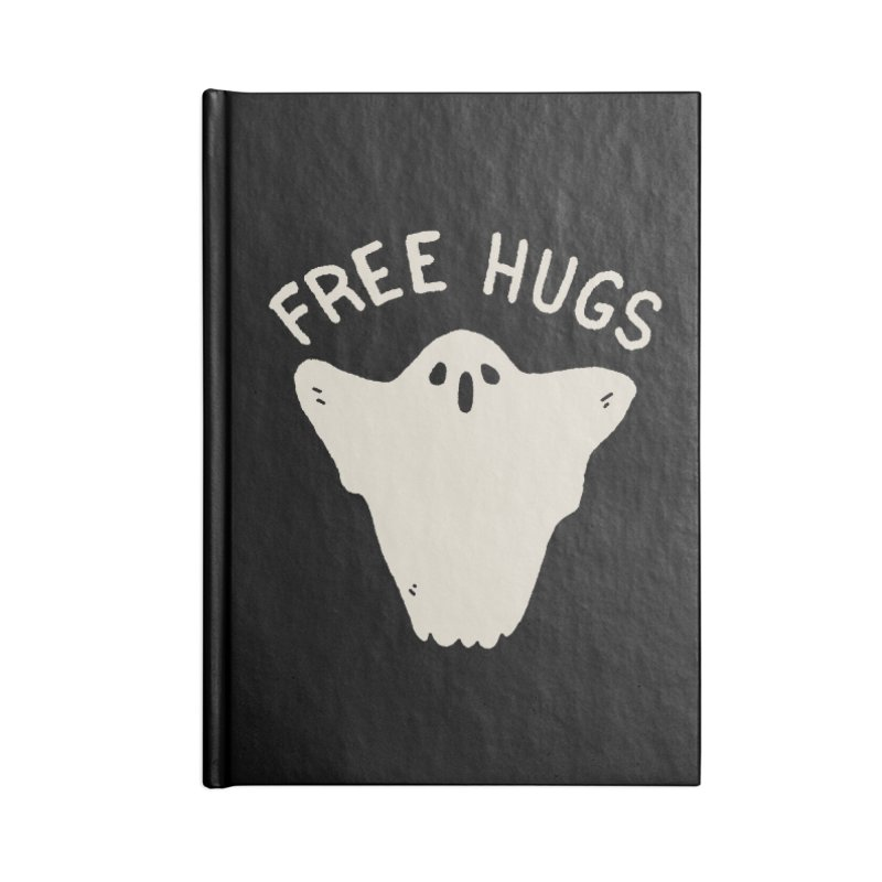 Free Hugs Accessories Lined Journal Notebook by Luis Romero