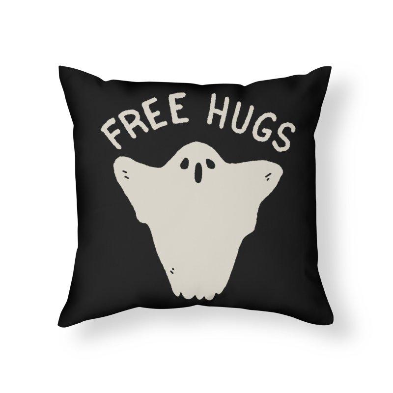Free Hugs Home Throw Pillow by Luis Romero