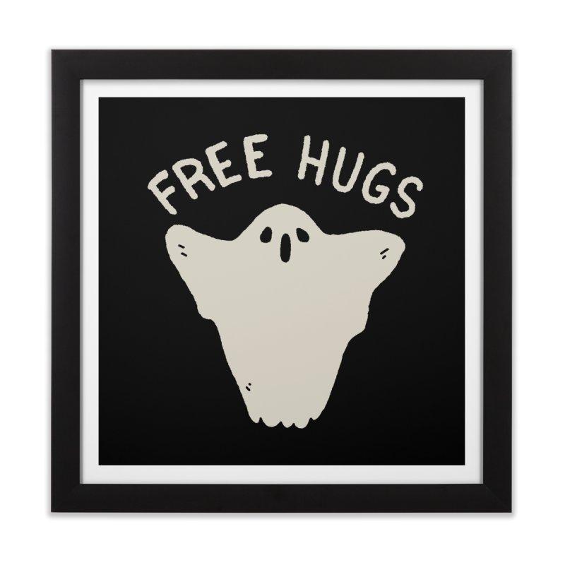 Free Hugs Home Framed Fine Art Print by Luis Romero Shop