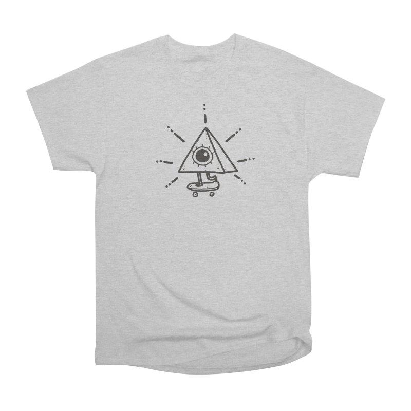 All-Shredding Eye Women's Heavyweight Unisex T-Shirt by Luis Romero