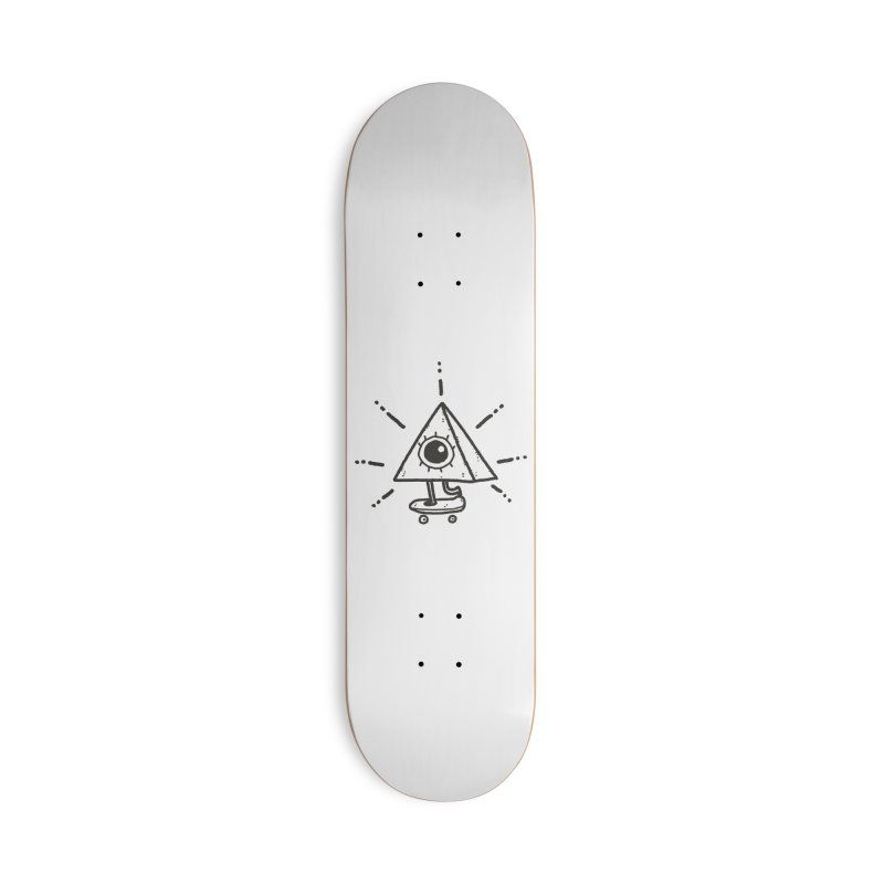 All-Shredding Eye Accessories Deck Only Skateboard by Luis Romero Shop