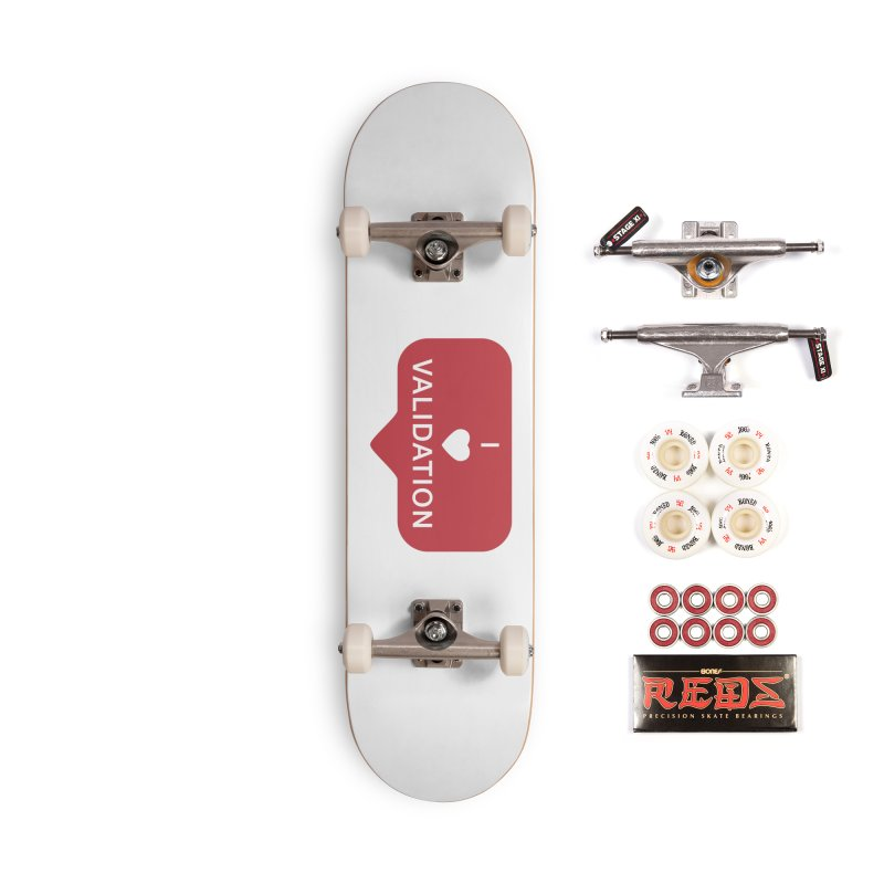 Validation Accessories Complete - Pro Skateboard by Luis Romero