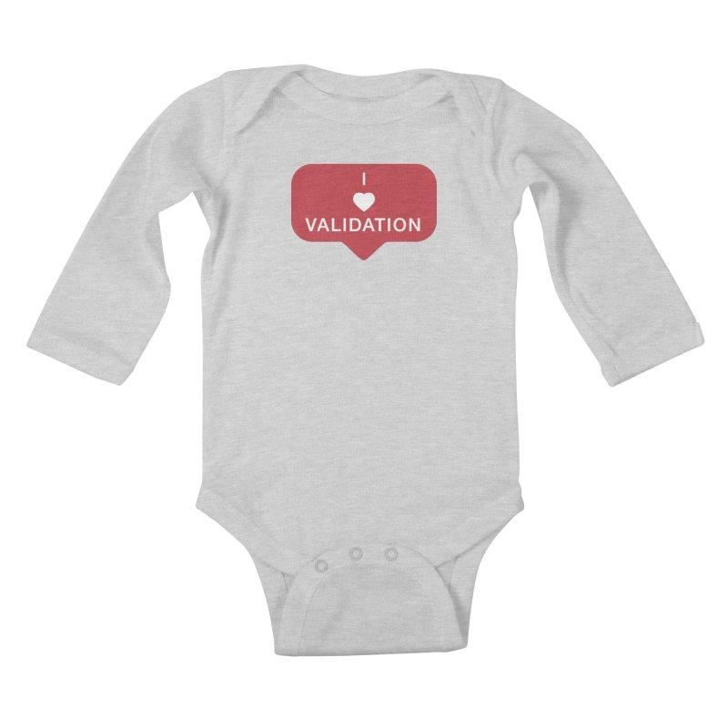 Validation Kids Baby Longsleeve Bodysuit by Luis Romero