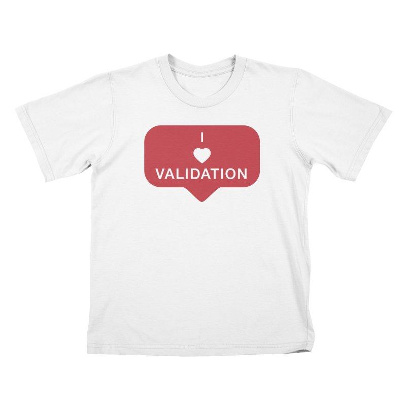Validation Kids T-Shirt by Luis Romero