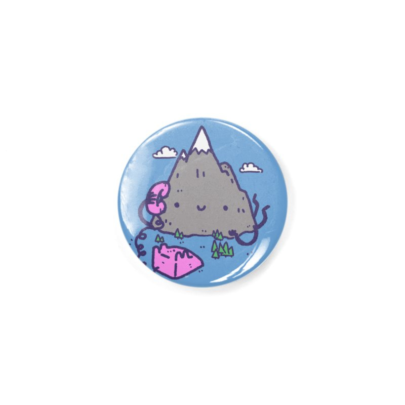 The Mountains are Calling Accessories Button by Luis Romero
