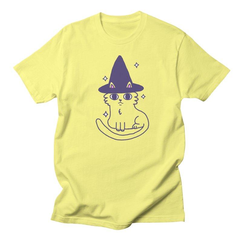Magicat Men's T-Shirt by Luis Romero