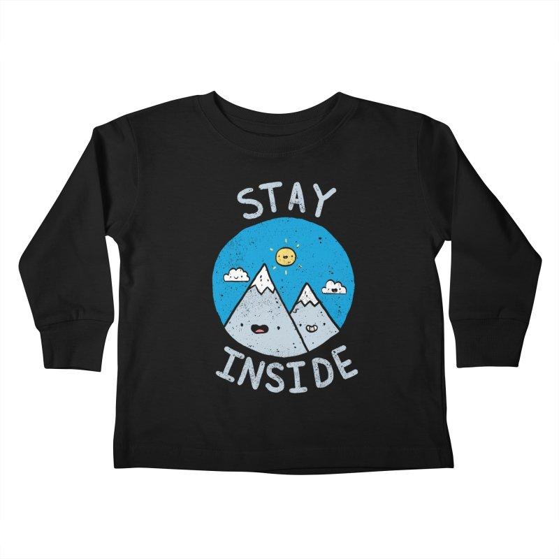 The Great Outdoors Kids Toddler Longsleeve T-Shirt by Luis Romero