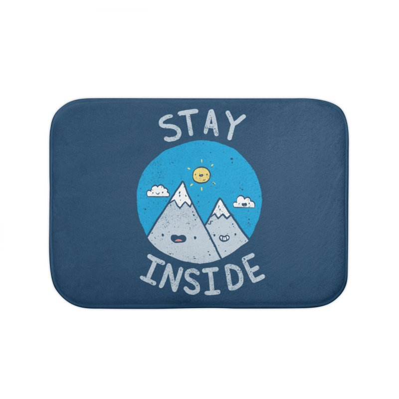 The Great Outdoors Home Goods Bath Mat by Luis Romero