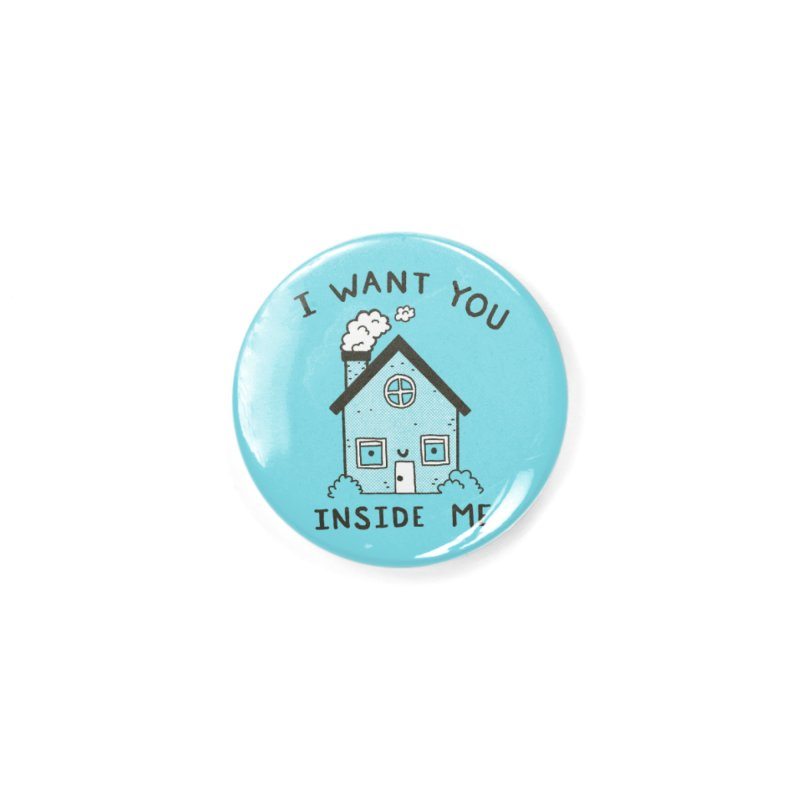I Want You Accessories Button by Luis Romero