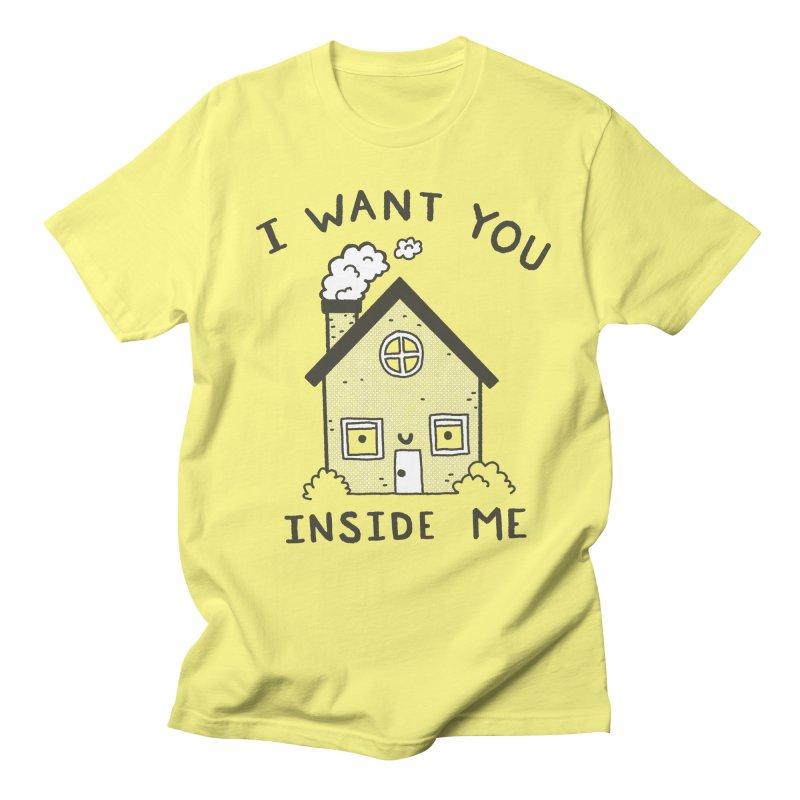 I Want You Men's T-Shirt by Luis Romero