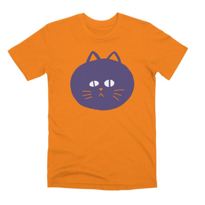 Meow Men's T-Shirt by Luis Romero